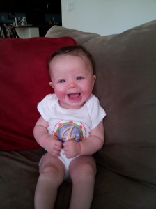 4 months old 7-24-12