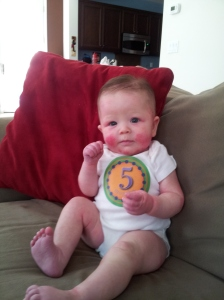 5 months old: 8-24-12