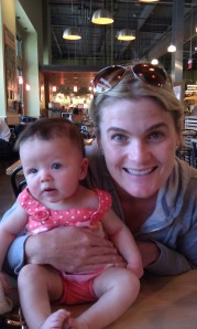 Eliza with Courtney