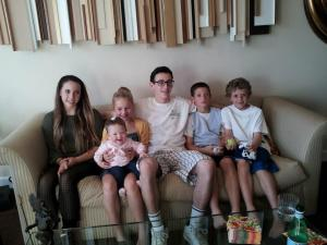 Blair cousins!