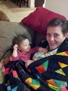 Bonding with grandma