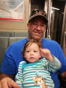 On BART with daddy