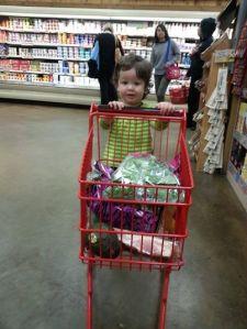 Shopping at Trader Joe's