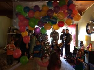 New Years Eve balloon drop