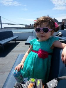 First ferry ride to Marin