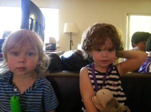 Eliza with Dan's son Hugo
