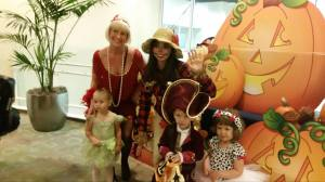 Trick or treating at Club Sport