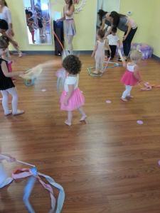 Ballet class at Tutu School