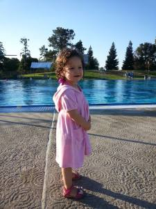 Day 1 of swim lessons