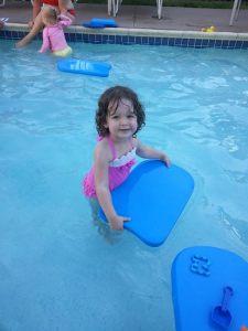 Fun in the kids pool!