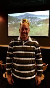 Celebrating daddy's birthday