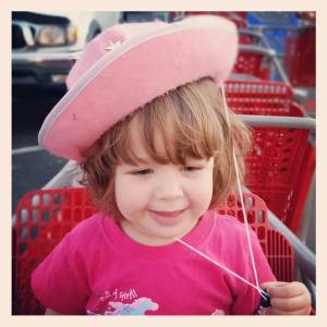 Cowgirl at Target