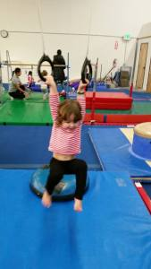 Open gym at Edge gymnastics