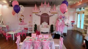 Fairy princess spa party