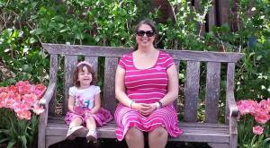 Filoli Gardens wtih mommy