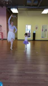 Dancing at Tutu School
